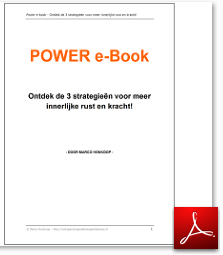 Power e-book Ontspanningsoefeningen